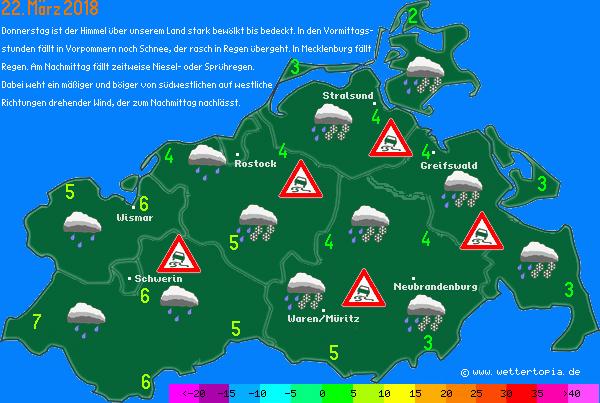 Wetterkarte MV
